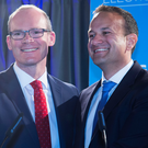Either Simon Coveney (left) or Leo Varadkar will be the next Taoiseach