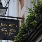 Fashion brand Jack Wills is launching a shop in Northern Germany amid plans to roll out 11 more international stores