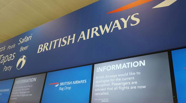 British Airways was plagued by IT problems during the weekend