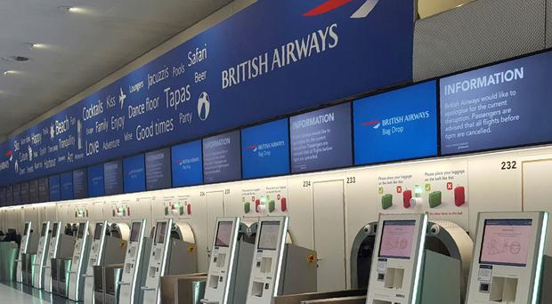 Shares in British Airways parent company took a tumble after the IT glitch