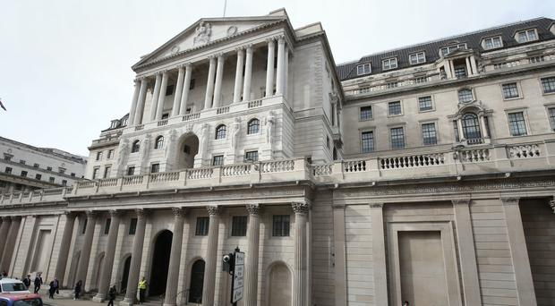 The dispute involves staff working in the maintenance, reception and facilities departments at the Bank of England