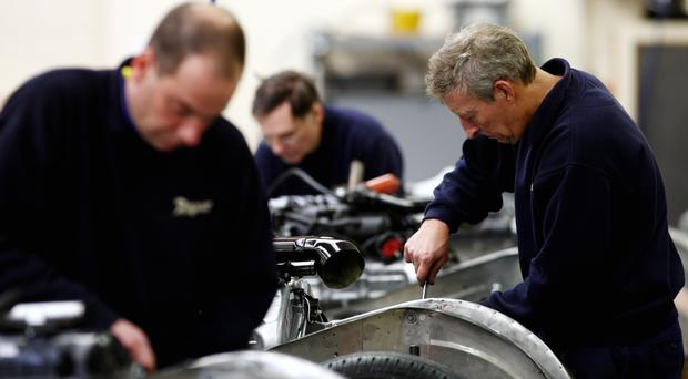 Companies are increasingly confident about prospects for the rest of the year, the EEF said
