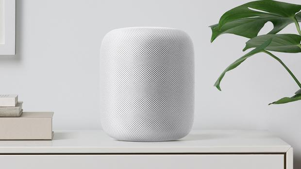 The HomePod announced at Apple's annual developer conference (Apple/PA)