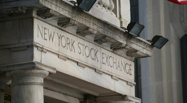 The Dow Jones industrial average slid 47.81 points to 21,136.23