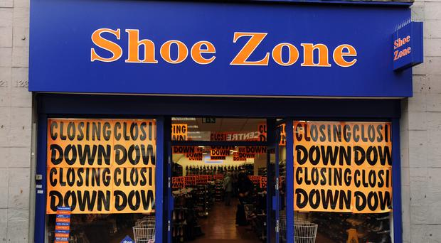 Shoe Zonesaw pre-tax profits plunge to £309,000 in the six months to April 1, from £1.9 million a year earlier