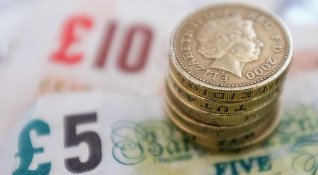Sterling fell over 1.5% to 1.27 US dollars