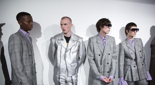 Men's fashion sales have increased faster than women's on the past year, figures show