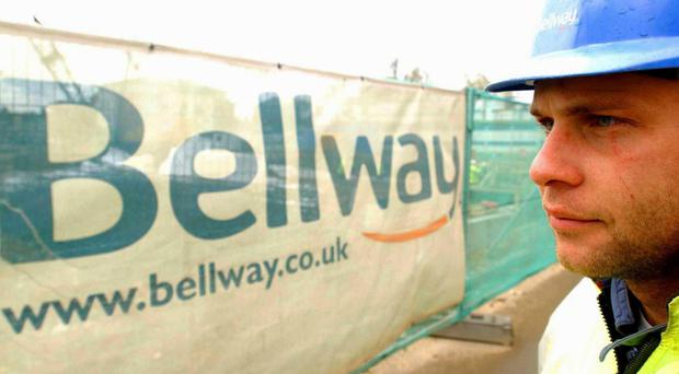 Bellway reported a 13% increase in reservation rates in the four months to June (Bellway/PA)