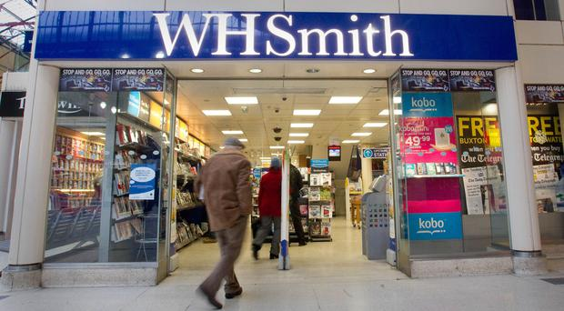 WH Smith's sales rise 2% in 15 weeks to June 10