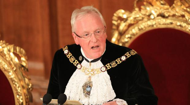 Lord Mayor of the City of London Andrew Parmley