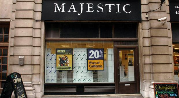 Majestic Wine posted pre-tax losses of £1.5 million for the year to April 3
