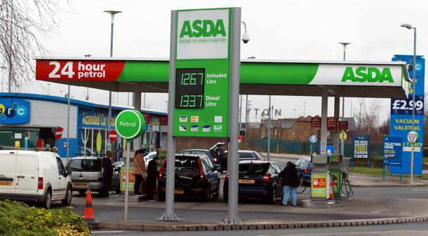 Asda will lower a price cap at its 305 filling stations to 111.7p per litre for unleaded and diesel from Friday