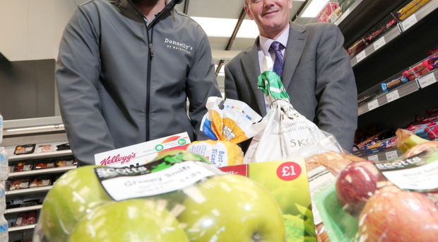 Connor Donnelly, owner of Donnelly's of Rathkenny, and Philip Smyth, business manager at Danske Bank's North Business Centre