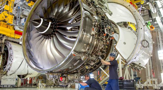 Aircraft engine maker Rolls-Royce said it will benefit from overseas dollar sales once they are translated back into Brexit-battered sterling (Rolls-Royce/PA)