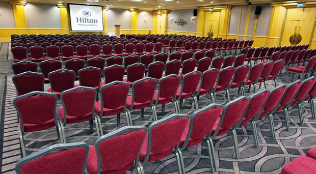 Meeting expectations: Hilton Belfast can cater for hundreds of delegates
