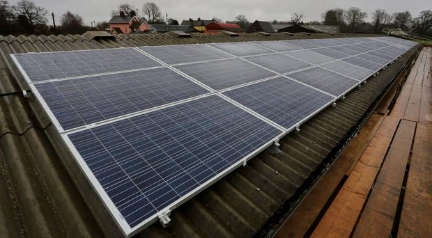 A report said community-run energy schemes such as local solar projects are powering the equivalent of 130,000 homes
