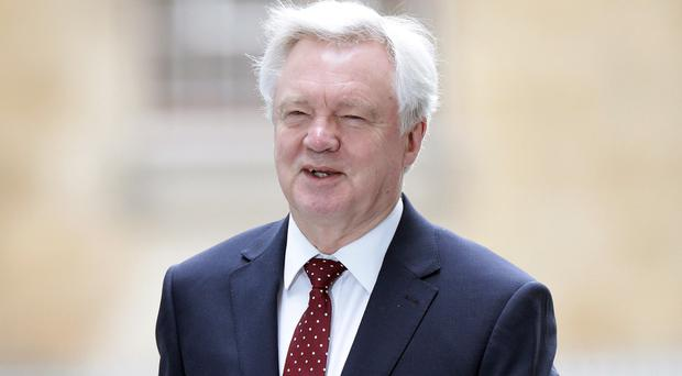 David Davis accepted the suggested timetable put forward by the European Commission's chief negotiator Michel Barnier