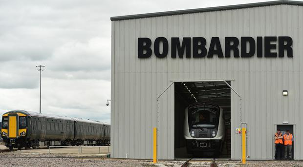 The £895 million fleet of trains for the new South Western franchise will be manufactured by Bombardier Transportation in Derby