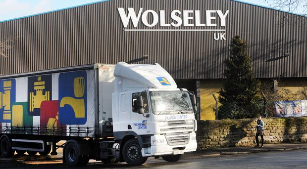 Wolseley said trading profit rose 9.5% to £254 million in the three months to April 30