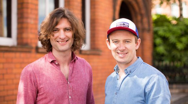 Root & Branch owners Simon Johnston and Ben Craig