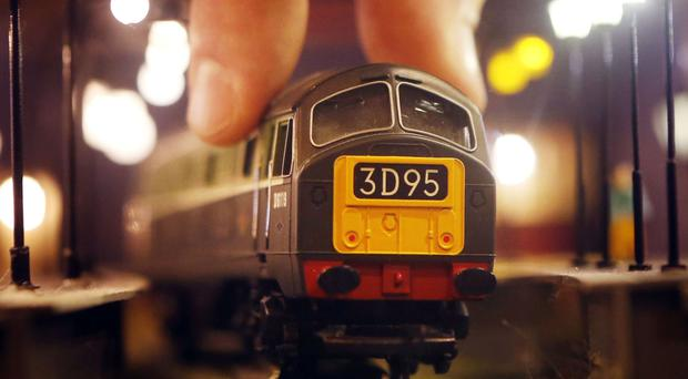 A Hornby Class 29 model train - the model toymaker said a takeover bid launched by Phoenix Asset Management significantly undervalues the firm