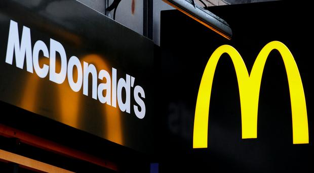 The McDonald's delivery service is available from 22 locations across London and another 10 restaurants in Leeds and Nottingham