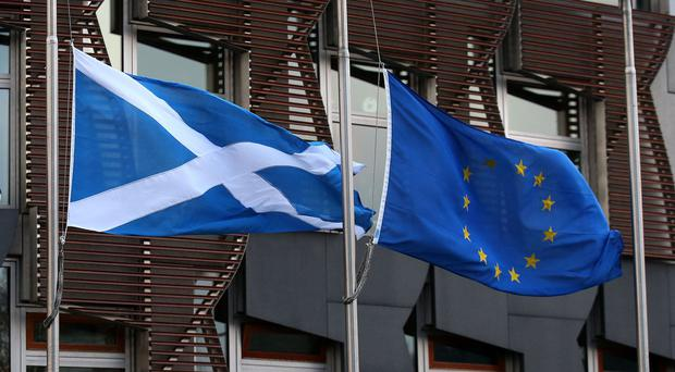 Outplay Entertainment boss Douglas Hare said Scottish independence may be the only option to keep the country in the EU