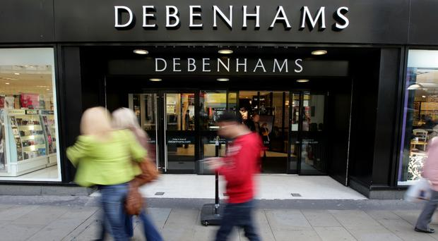 Debenhams hit by consumer squeeze
