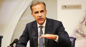 Mr Carney struck a more hawkish note compared to his speech at Mansion House last week