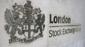 The FTSE 100 Index was down 46.56 points at 7,387.8 as markets closed
