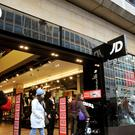 JD Sports shares fell by more than 9% to 361.4p in morning trading