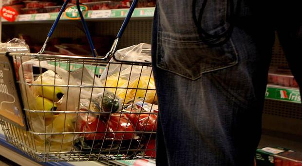 A tracker showed the cost of an average basket of groceries rose steeply last month