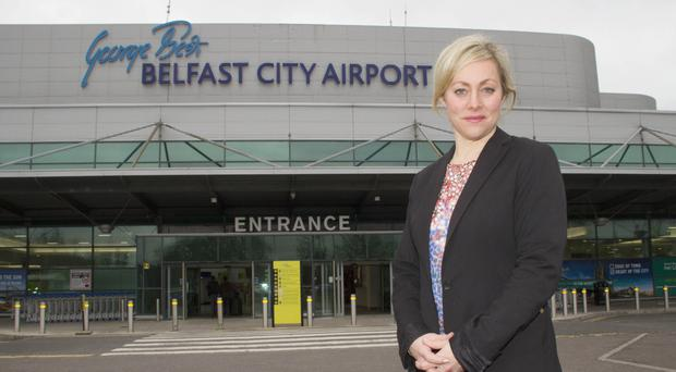 Katy Best, commercial and marketing director at George Best Belfast City Airport