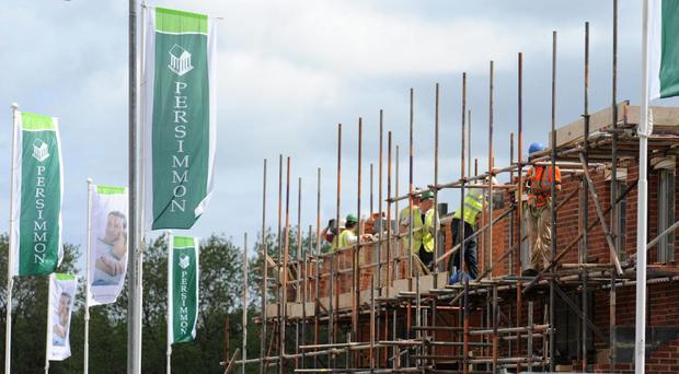 The average selling price of Persimmon homes grew 3.5% to around £213,000