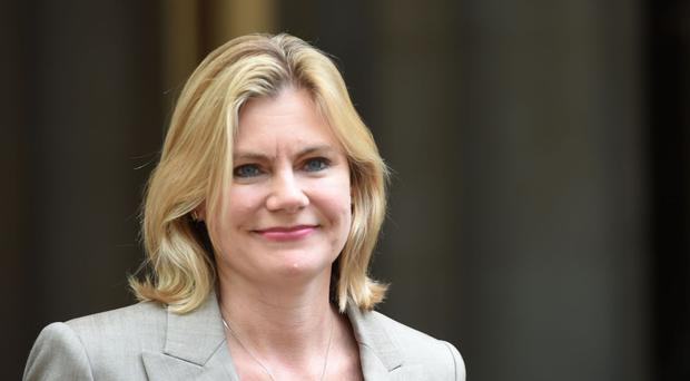 Education Secretary Justine Greening is urging businesses to help the drive to improve technical education