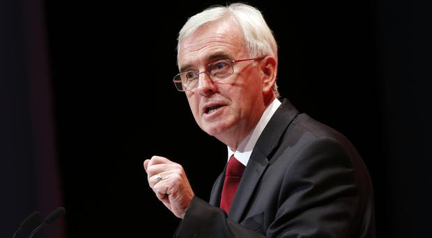 Shadow chancellor John McDonnell accused the Tories of short-changing the taxpayer