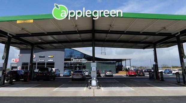 Applegreen's M1 country-bound filling station