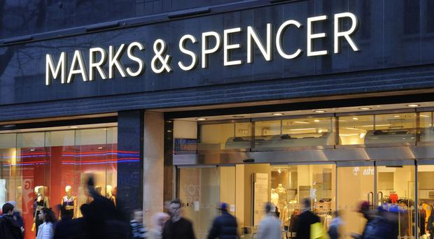 Food sales slip at M&S