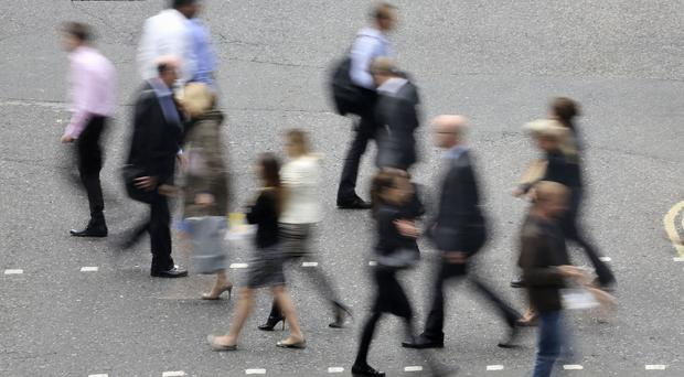 Page Group said political uncertainty is continuing to hit the UK jobs market
