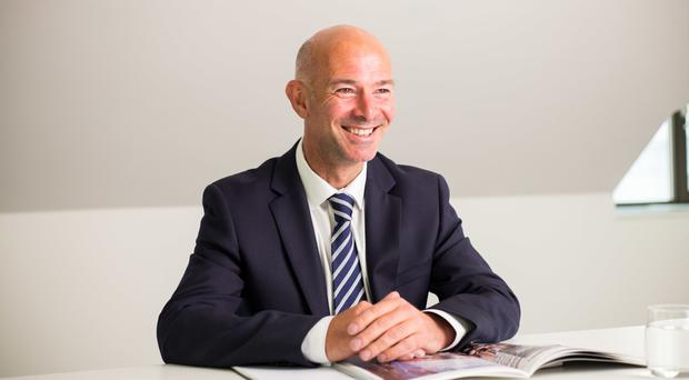 Galliford Try chief executive Peter Truscott said the company was expecting a strong full-year result (Galliford Try/PA)