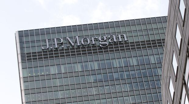 The European headquarters of JP Morgan bank in London's Canary Wharf