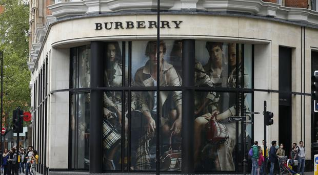 Burberry's comparable sales lifted by China