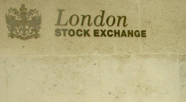 London's blue chip index ended the day nearly flat, down 3.49 points at 7,413.44