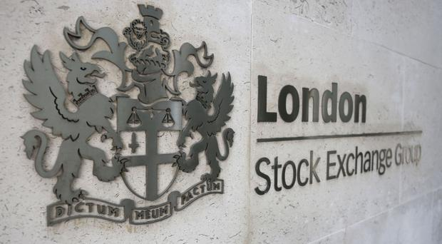 The FTSE 100 ended the day in the red, down 35.05 points at 7,378.39