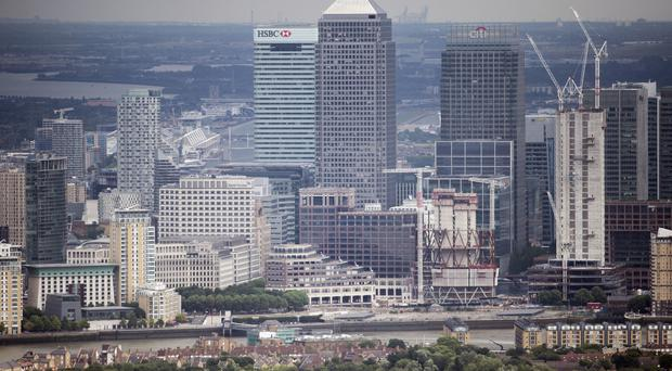 Northern Trust's office in Canary Wharf employs between 1,000 and 1,500 people