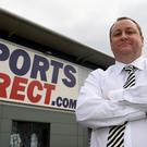 Sports Direct reported a 58.7% tumble in underlying pre-tax profits to £113.7 million for the year to April 30
