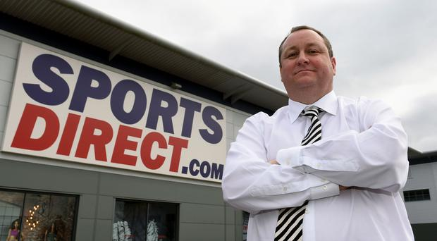 Sports Direct shares rise despite 60pc profit plunge