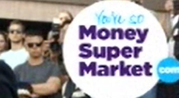 Moneysupermarket said revenues in its home services division fell by a third in the six months to June to £16.9 million