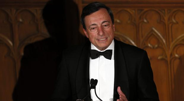 Mario Draghi hinted at changes to the bond-buying programme
