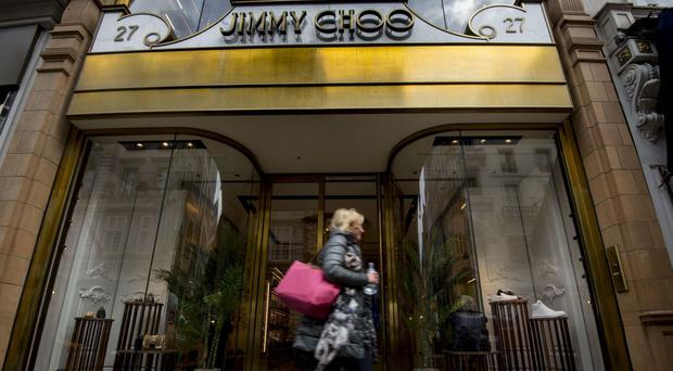 Jimmy Choo put itself up for sale as part of a strategic review in April